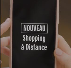 annonce shopping à distance