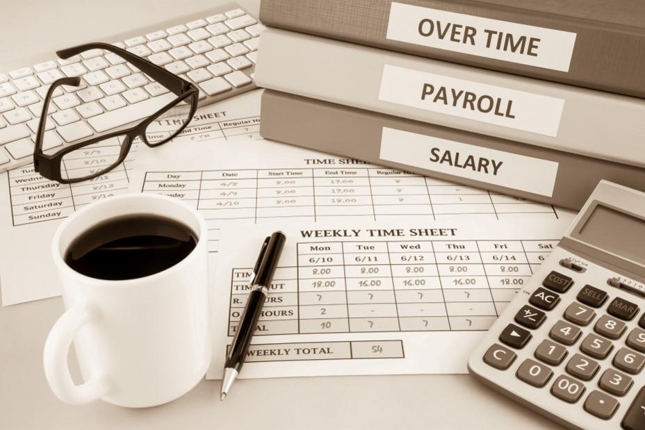 illustration travail du comptable
