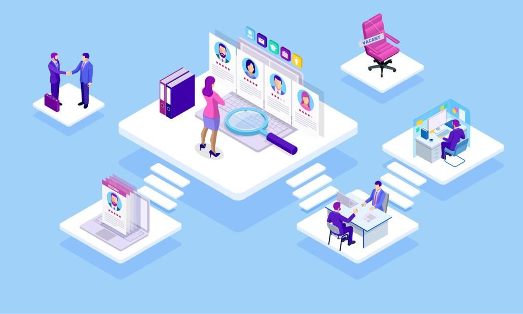 illustration digitalisation du travail