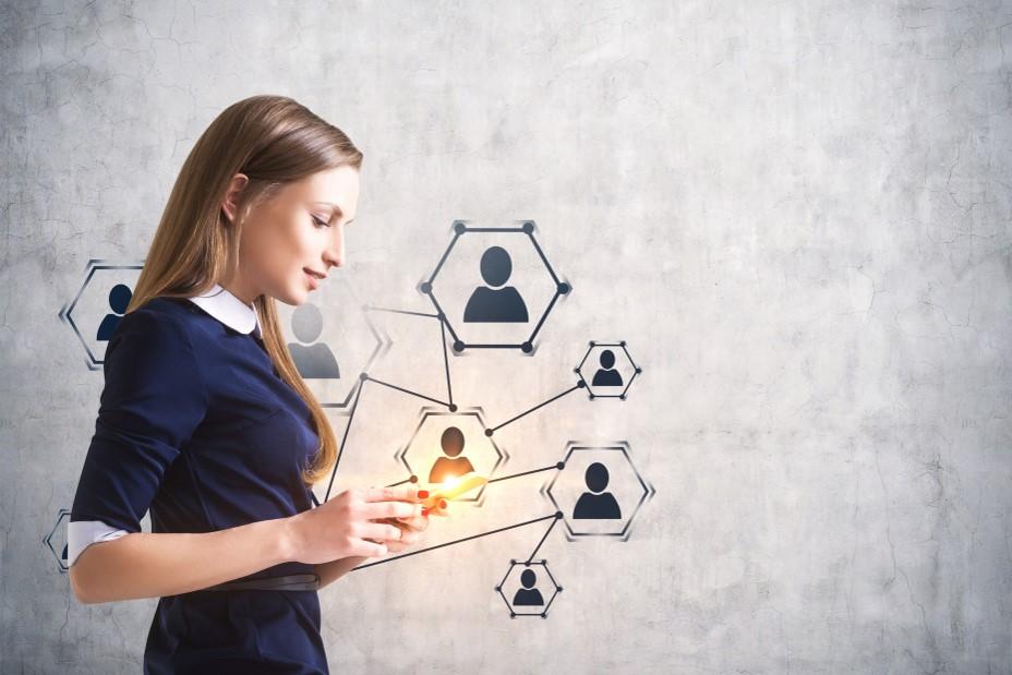 illustration digitalisation des ressources humaines