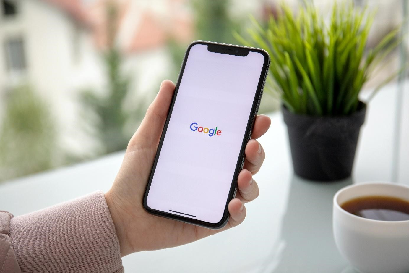 Portable avec logo google