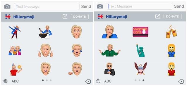 Emojis Hilary
