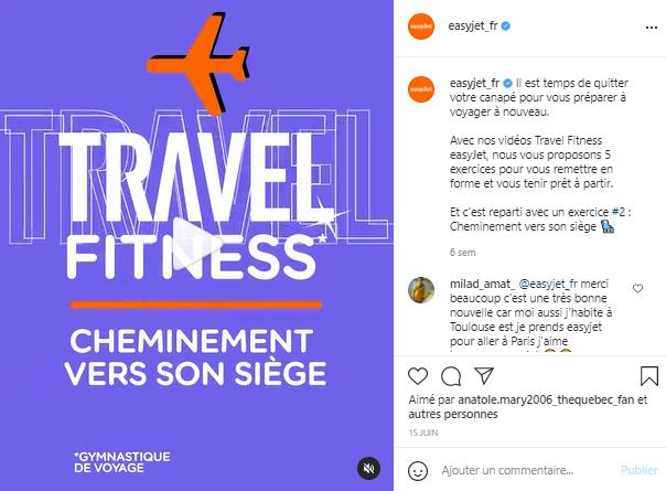 Story Instagram Easy Jet